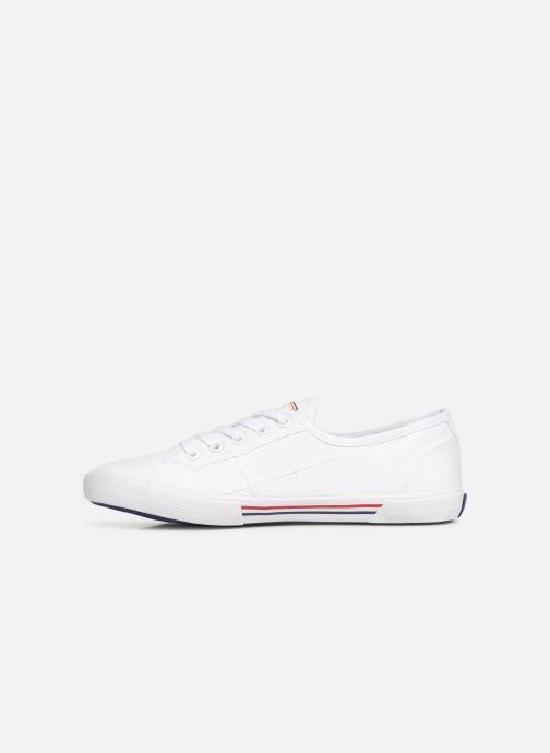 Sneaker Pepe jeans Aberlady Basic 17 weiß ansicht von vorne