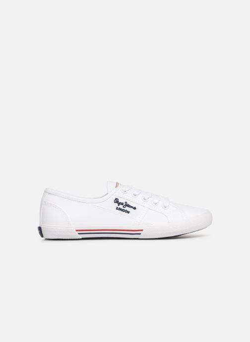 Sneaker Pepe jeans Aberlady Basic 17 weiß ansicht von hinten