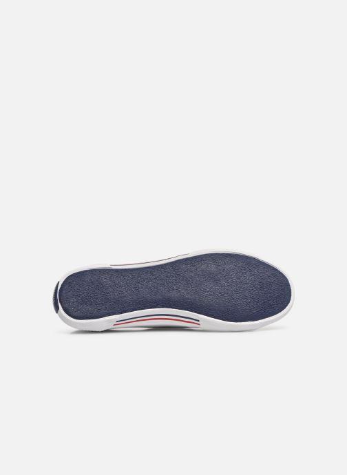Baskets Pepe jeans Aberlady Basic 17 Blanc vue haut