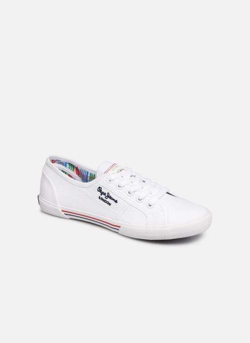 Sneaker Pepe jeans Aberlady Basic 17 weiß detaillierte ansicht/modell