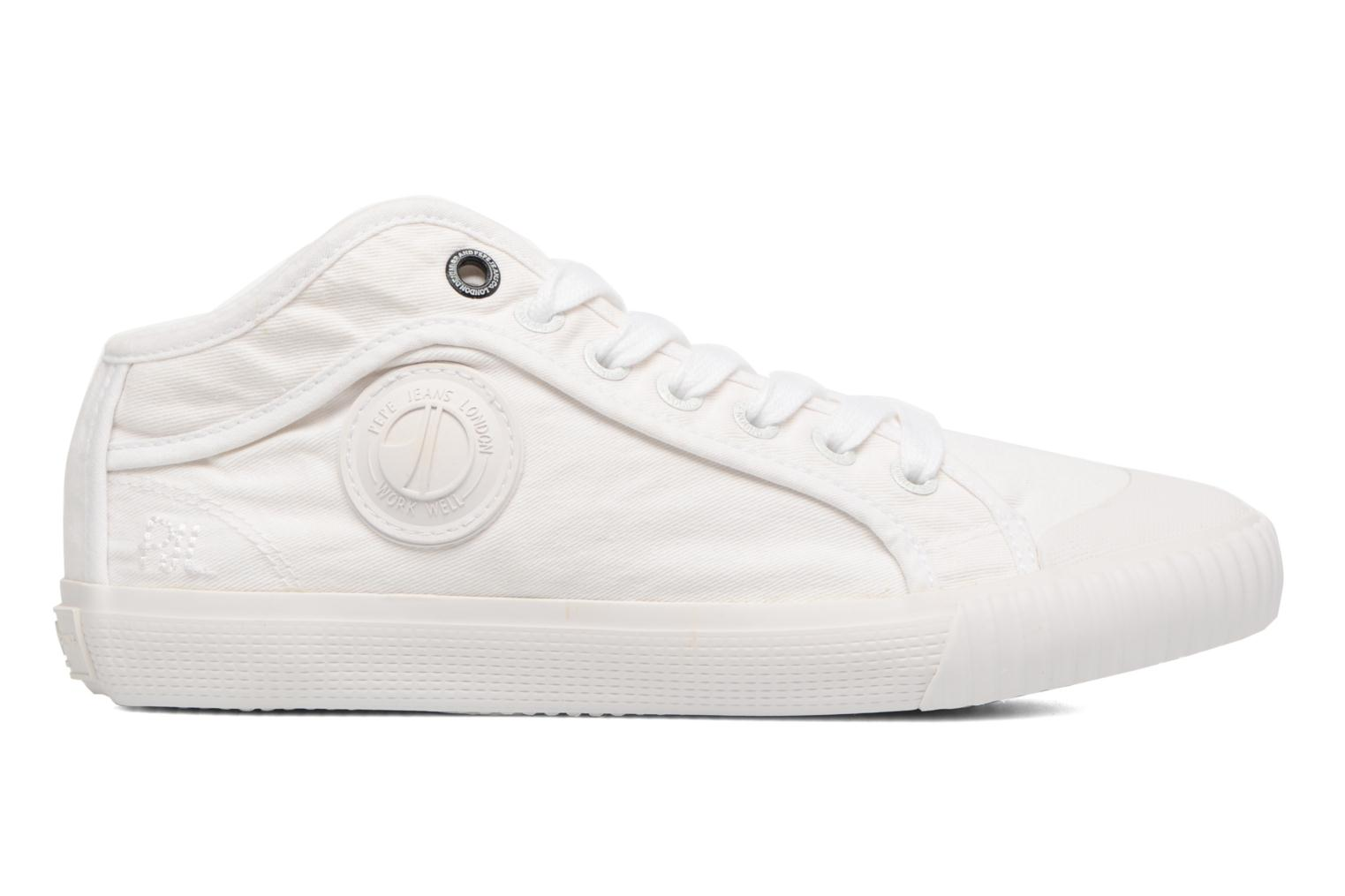 Deportivas Pepe jeans Industry Routes W Blanco vistra trasera