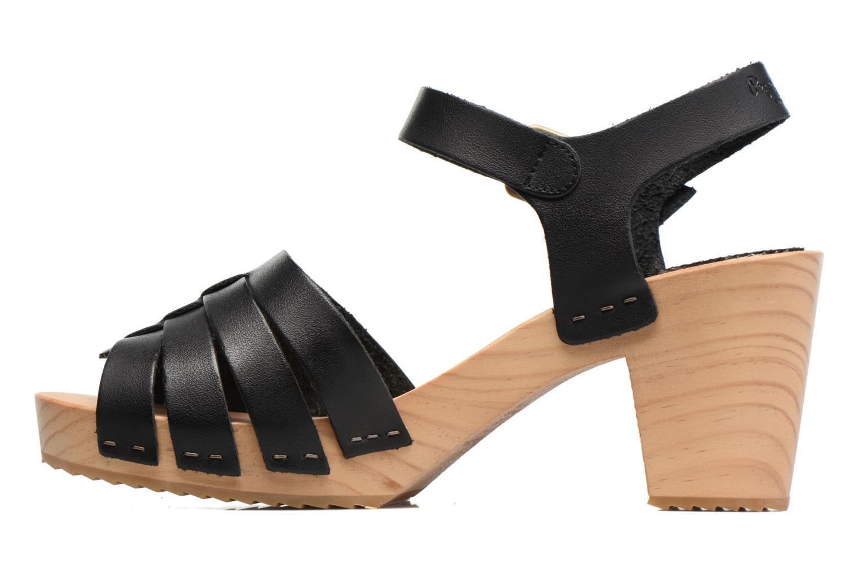 Sandalias Pepe jeans Oly Negro vista de frente