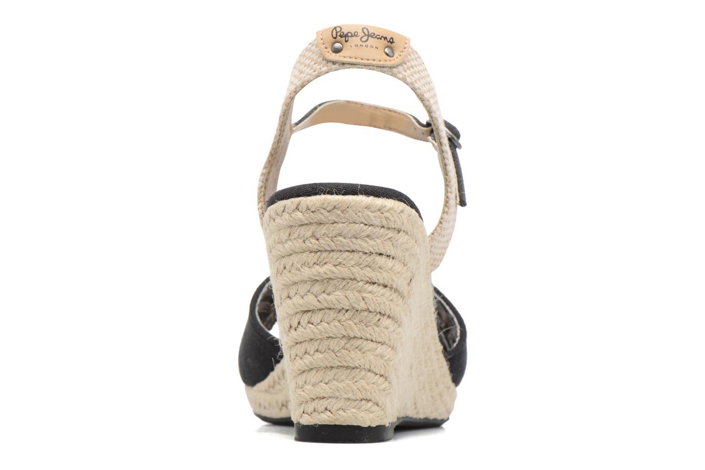 Sandales et nu-pieds Pepe jeans Shark Basic Noir vue droite