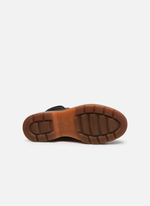 Sandalen HÖGL Sonnbühel schwarz ansicht von oben