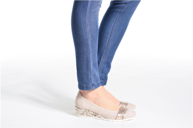 Ballerina's Jana shoes Sofia Grijs onder