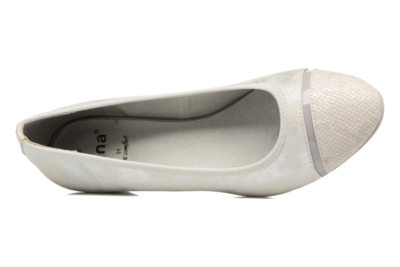 Ballerina's Jana shoes Sofia Grijs links