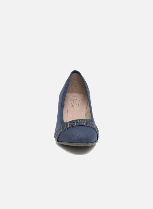 High heels Jana shoes Carla 2 Blue model view