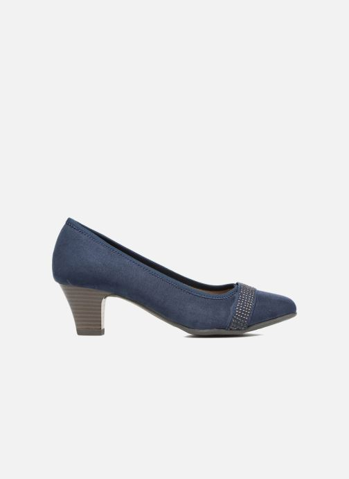 High heels Jana shoes Carla 2 Blue back view