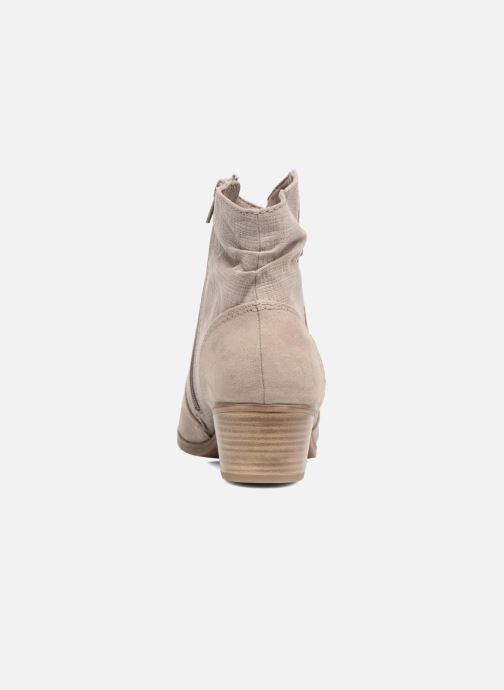 Bottines et boots Jana shoes Lorena Marron vue droite