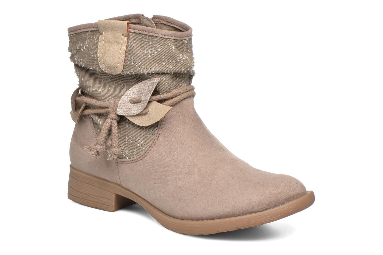 Boots en enkellaarsjes Jana shoes Karen Beige detail