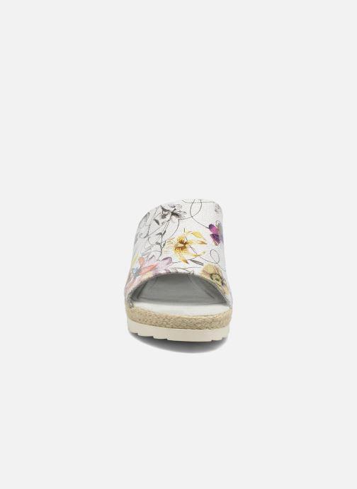 Mules et sabots Jana shoes Aylin Blanc vue portées chaussures