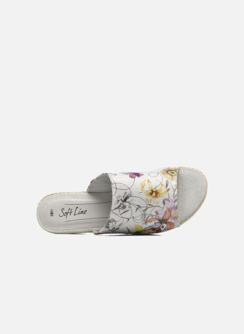 Mules et sabots Jana shoes Aylin Blanc vue gauche