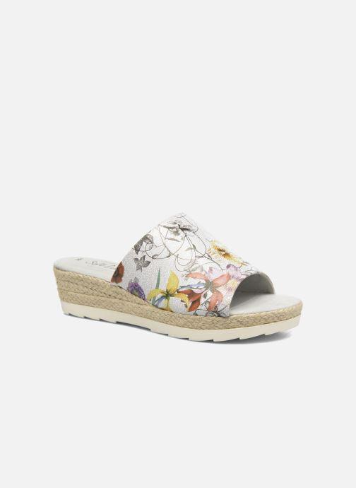 Mules et sabots Jana shoes Aylin Blanc vue détail/paire