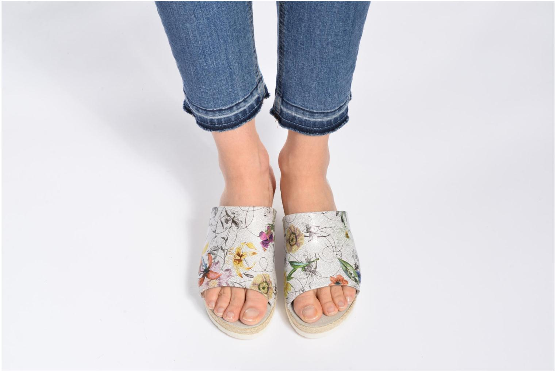 Zoccoli Jana shoes Aylin Bianco immagine dal basso