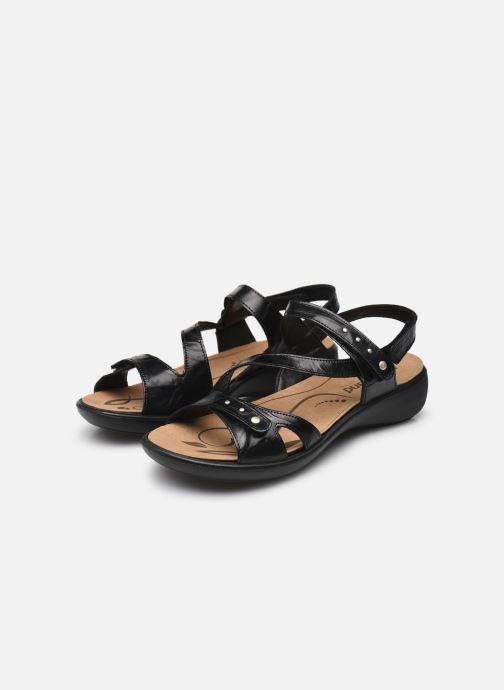 Sandales et nu-pieds Romika Ibiza 70 Noir vue bas / vue portée sac