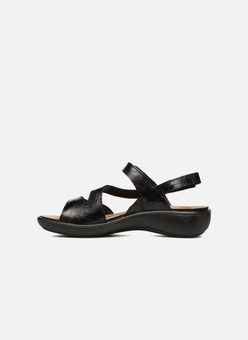 Sandales et nu-pieds Romika Ibiza 70 Noir vue face