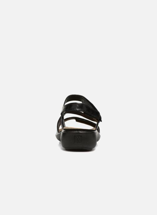 Sandales et nu-pieds Romika Ibiza 70 Noir vue droite