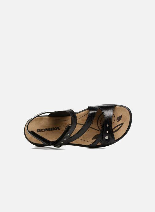 Sandales et nu-pieds Romika Ibiza 70 Noir vue gauche