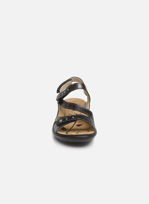 Sandales et nu-pieds Romika Ibiza 70 Gris vue portées chaussures