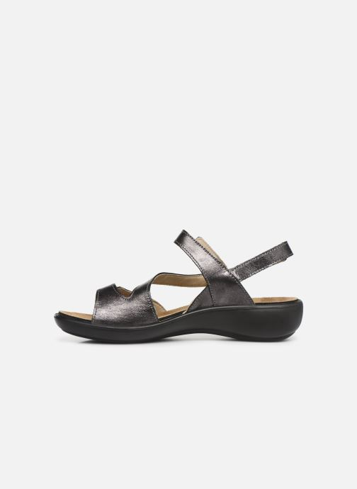 Sandales et nu-pieds Romika Ibiza 70 Gris vue face