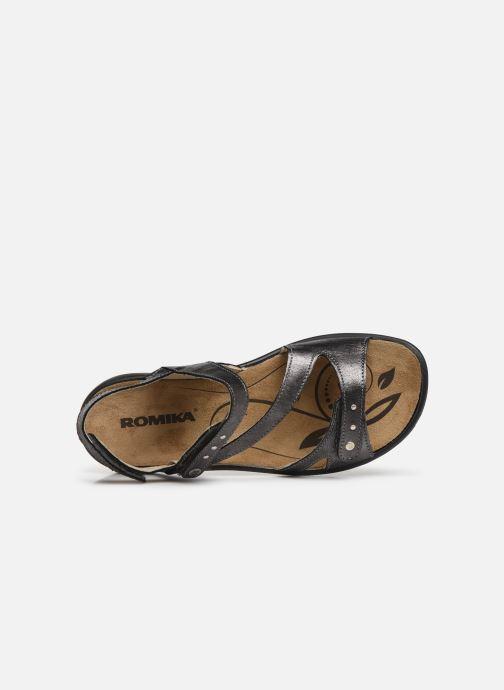 Sandales et nu-pieds Romika Ibiza 70 Gris vue gauche