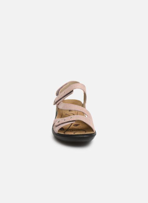 Sandales et nu-pieds Romika Ibiza 70 Rose vue portées chaussures
