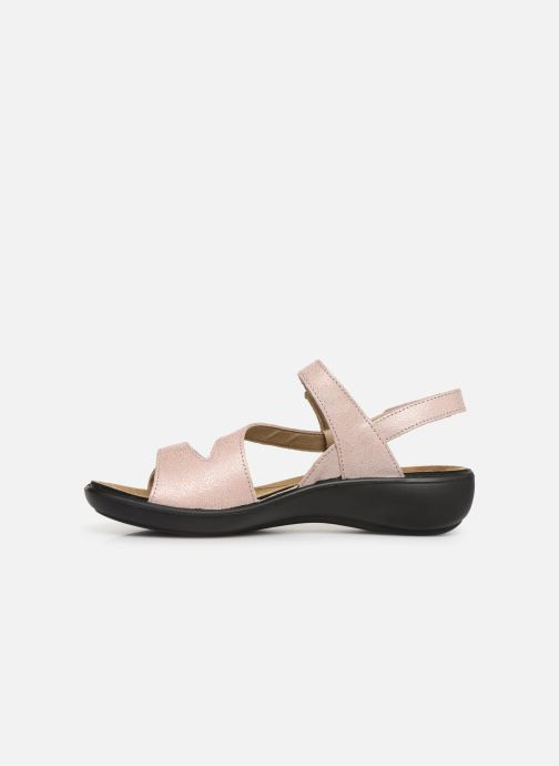 Sandals Romika Ibiza 70 Pink front view