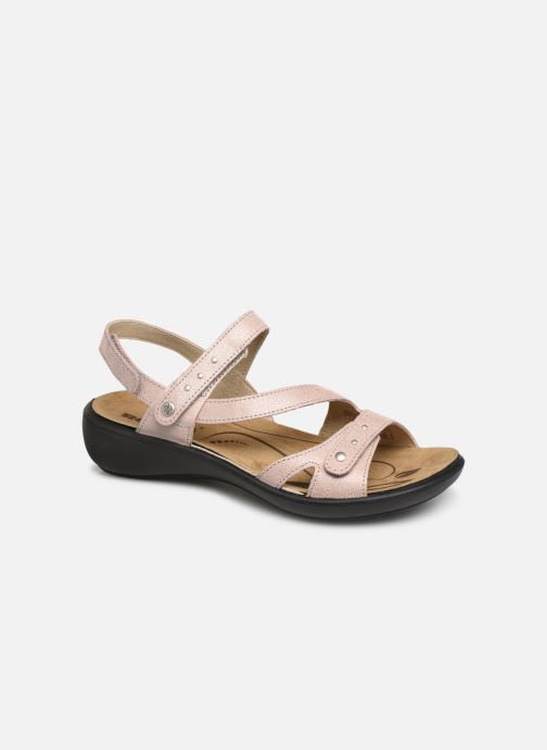 Sandals Romika Ibiza 70 Pink detailed view/ Pair view