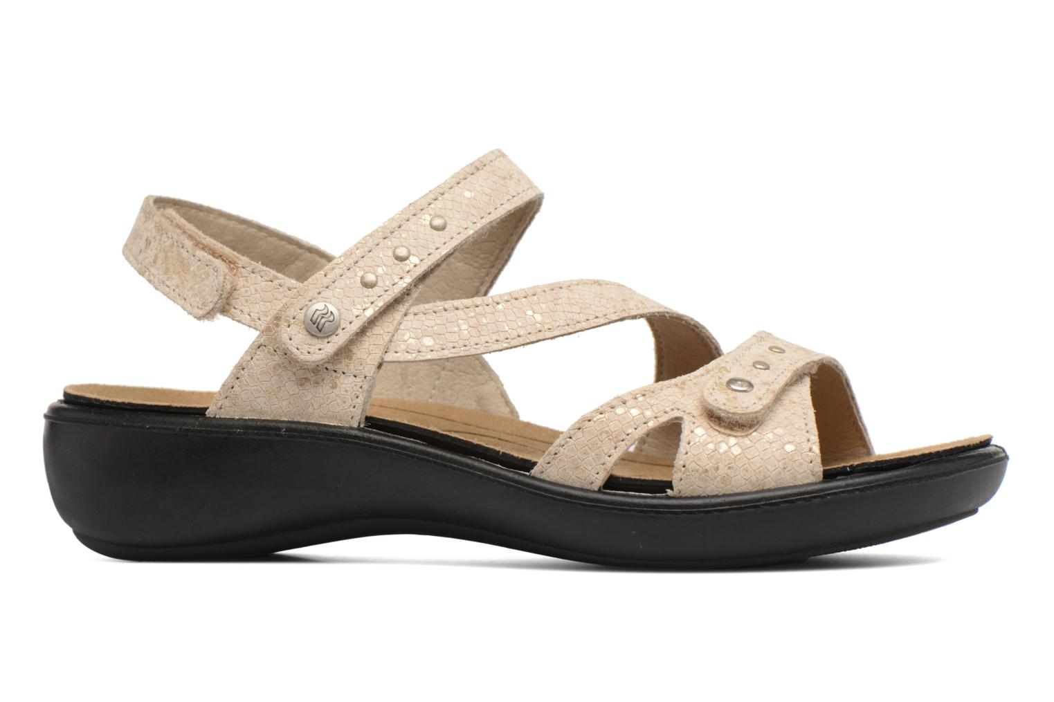 Sandals Romika Ibiza 70 Beige back view