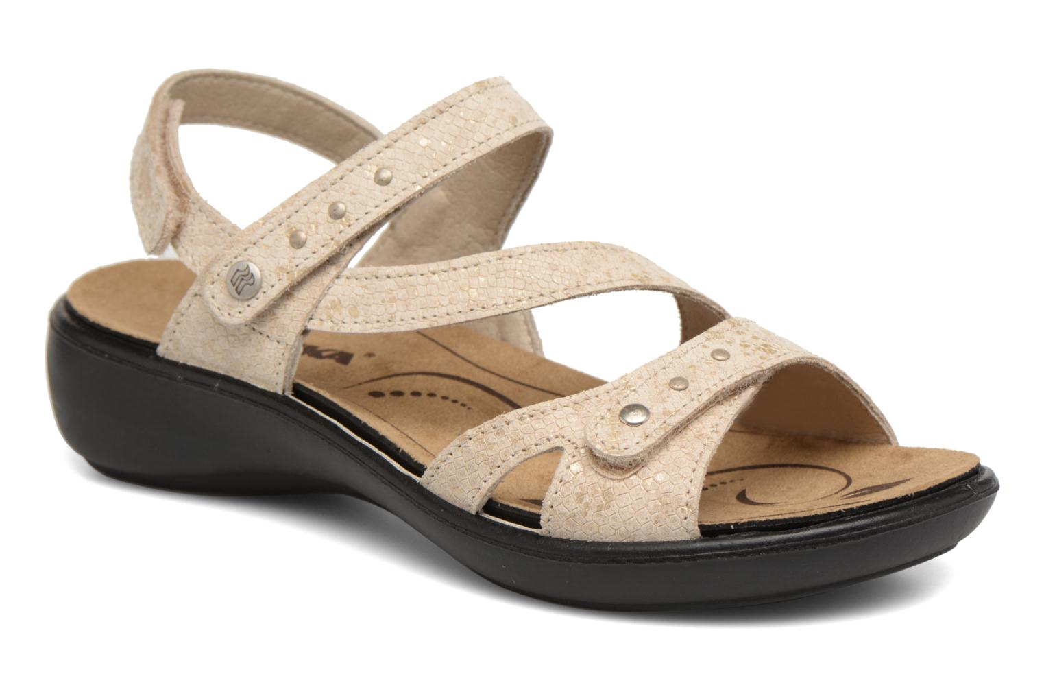 Sandals Romika Ibiza 70 Beige detailed view/ Pair view