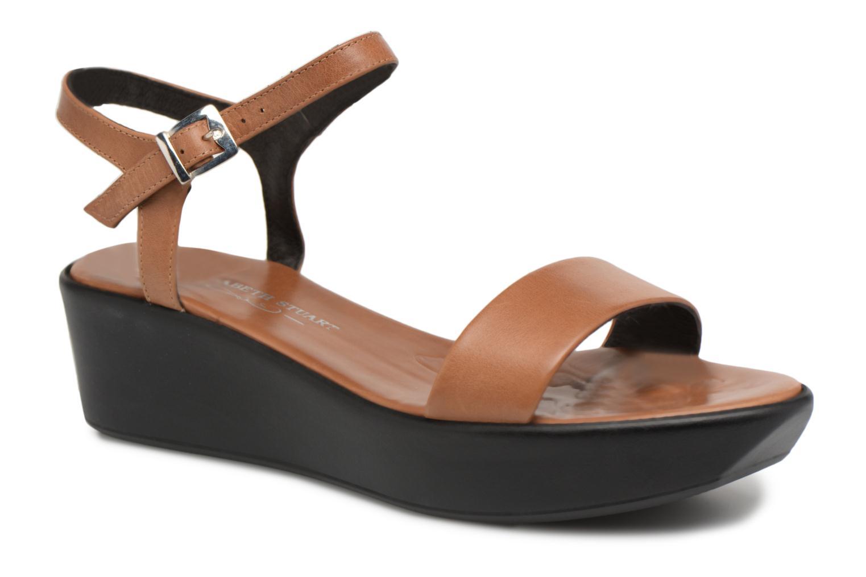 Sandales et nu-pieds Elizabeth Stuart Villau 304 Marron vue détail/paire