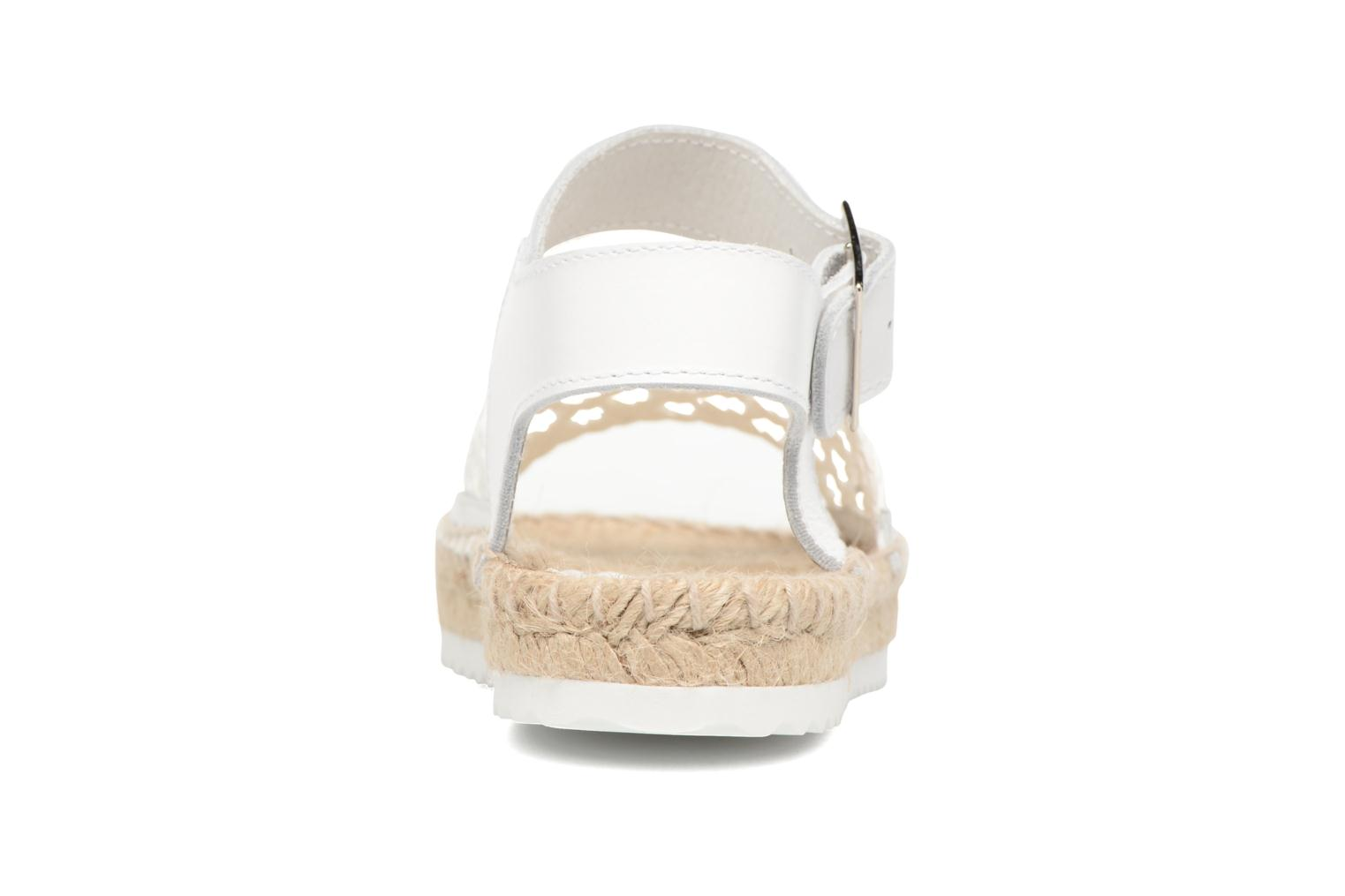 Espadrilles Elizabeth Stuart Nizza 910 White view from the right