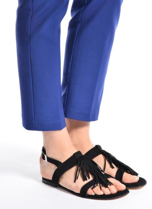 Sandales et nu-pieds Elizabeth Stuart Wlany 606 Noir vue bas / vue portée sac