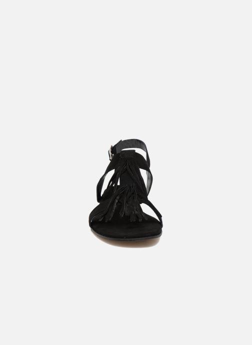 Sandales et nu-pieds Elizabeth Stuart Wlany 606 Noir vue portées chaussures
