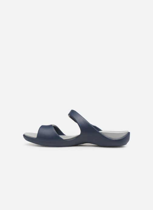 Mules & clogs Crocs Cleo V Blue front view