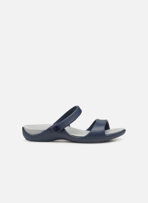 Mules & clogs Crocs Cleo V Blue back view