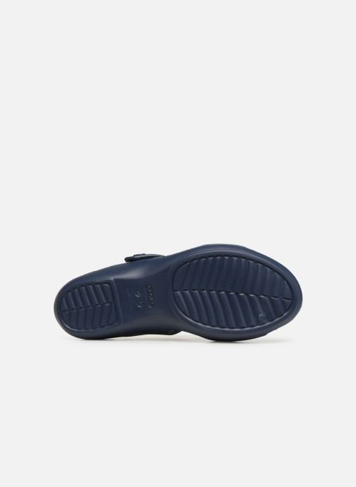 Mules & clogs Crocs Cleo V Blue view from above