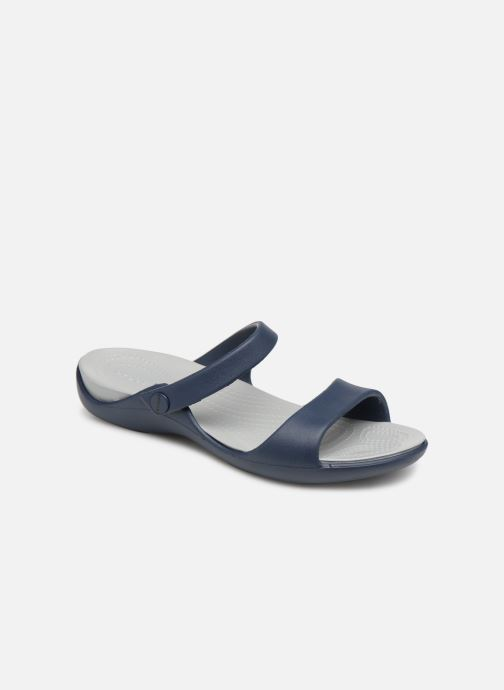 Mules & clogs Crocs Cleo V Blue detailed view/ Pair view