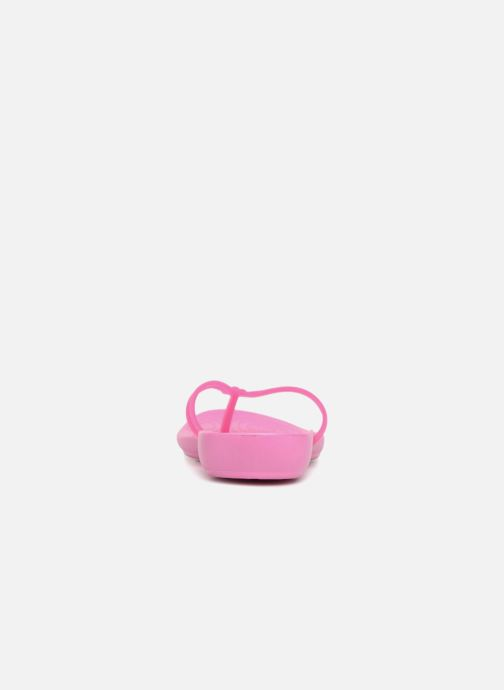 Flip flops Crocs Crocs Isabella Flip W Pink view from the right