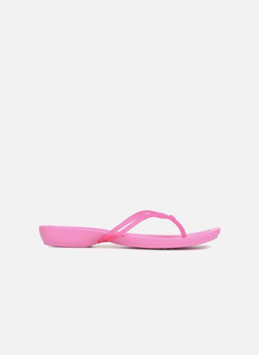 Zehensandalen Crocs Crocs Isabella Flip W rosa ansicht von hinten
