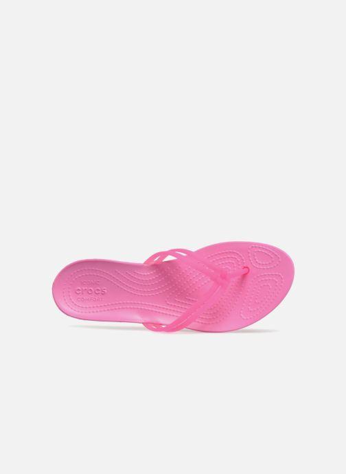 Zehensandalen Crocs Crocs Isabella Flip W rosa ansicht von links