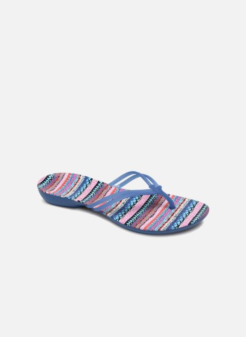 9fa3d9c61 Flip flops Crocs Crocs Isabella Graphic Flip W Multicolor detailed view   Pair view