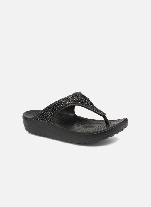 Slippers Crocs Crocs Sloane Embellished Flip Zwart detail