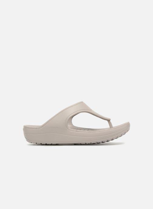 Slippers Crocs Crocs Sloane Platform Flip W Grijs achterkant