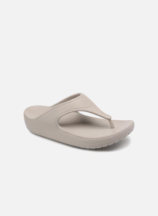 Slippers Crocs Crocs Sloane Platform Flip W Grijs detail