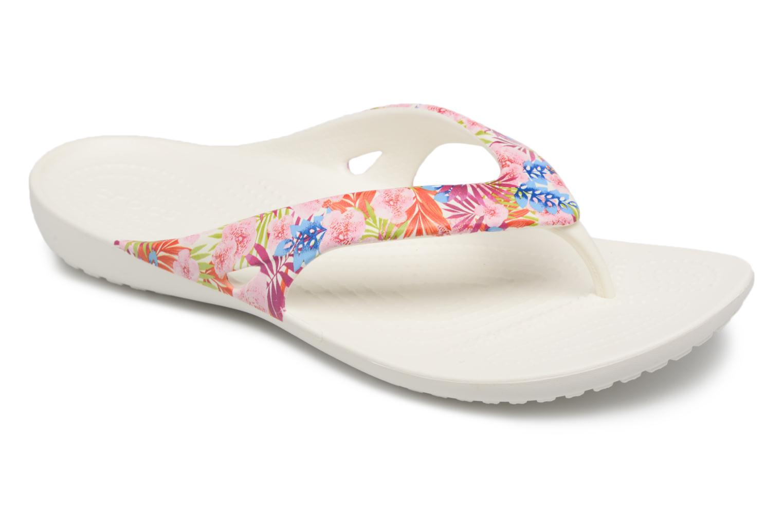Tongs Crocs Kadee II Graphic Flip W Multicolore vue détail/paire