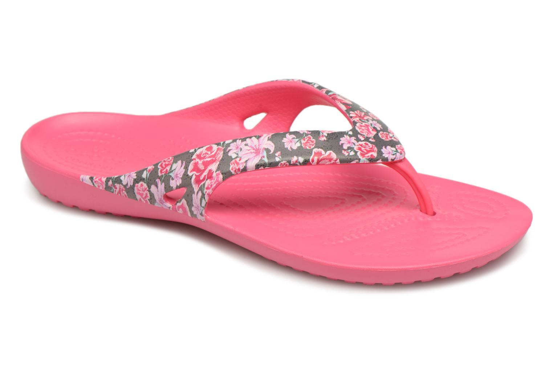 65a13750a Crocs Kadee II Graphic Flip W (Multicolor) - Flip flops chez Sarenza ...