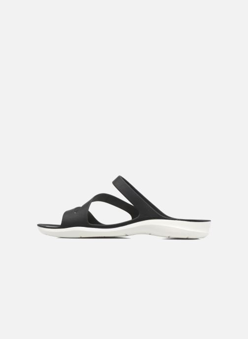 Wedges Crocs Swiftwater Sandal W Zwart voorkant