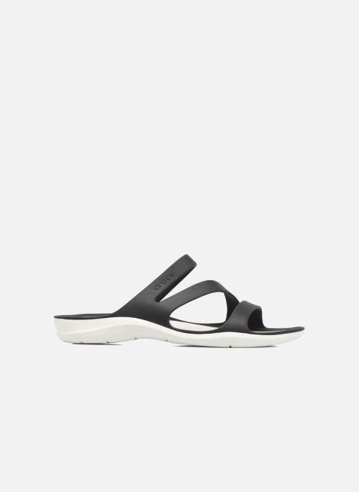 Wedges Crocs Swiftwater Sandal W Zwart achterkant