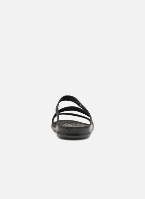 Clogs & Pantoletten Crocs Swiftwater Sandal W schwarz ansicht von rechts